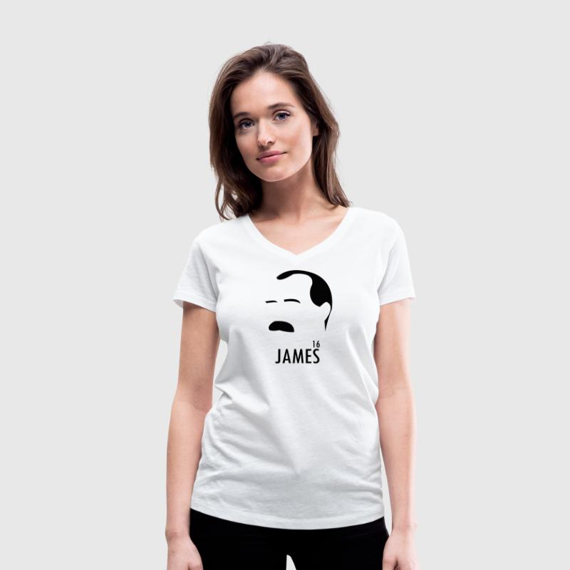 James Connolly Easter 1916 Rising Irish T-shirts - Women's Organic V-Neck T-Shirt by Stanley & Stella