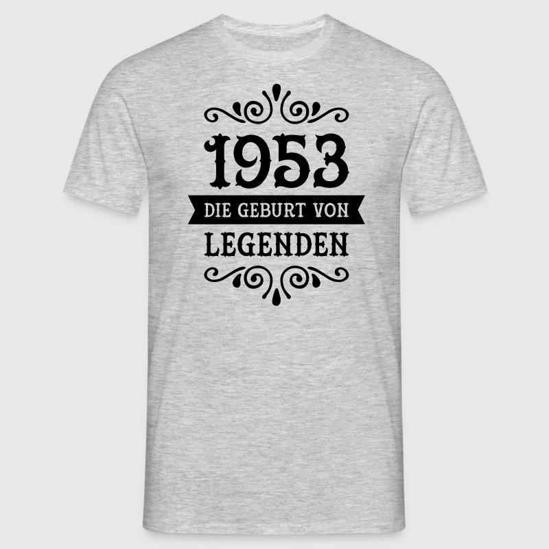 1953 die geburt von legenden t shirt spreadshirt. Black Bedroom Furniture Sets. Home Design Ideas