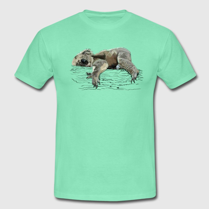 koala bear T-shirts - Herre-T-shirt
