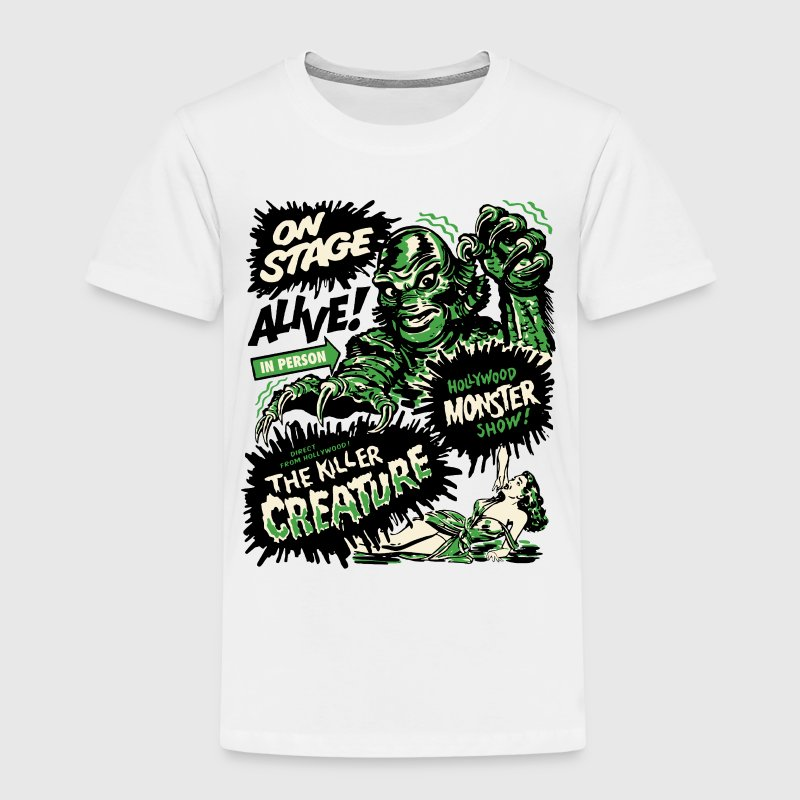 Blanc The Killer Creature Hollywood Show Tee shirts - T-shirt Premium Enfant