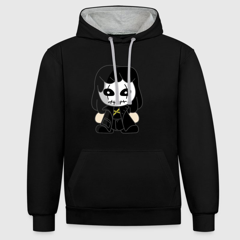 Personnage Halloween - Sweat-shirt contraste