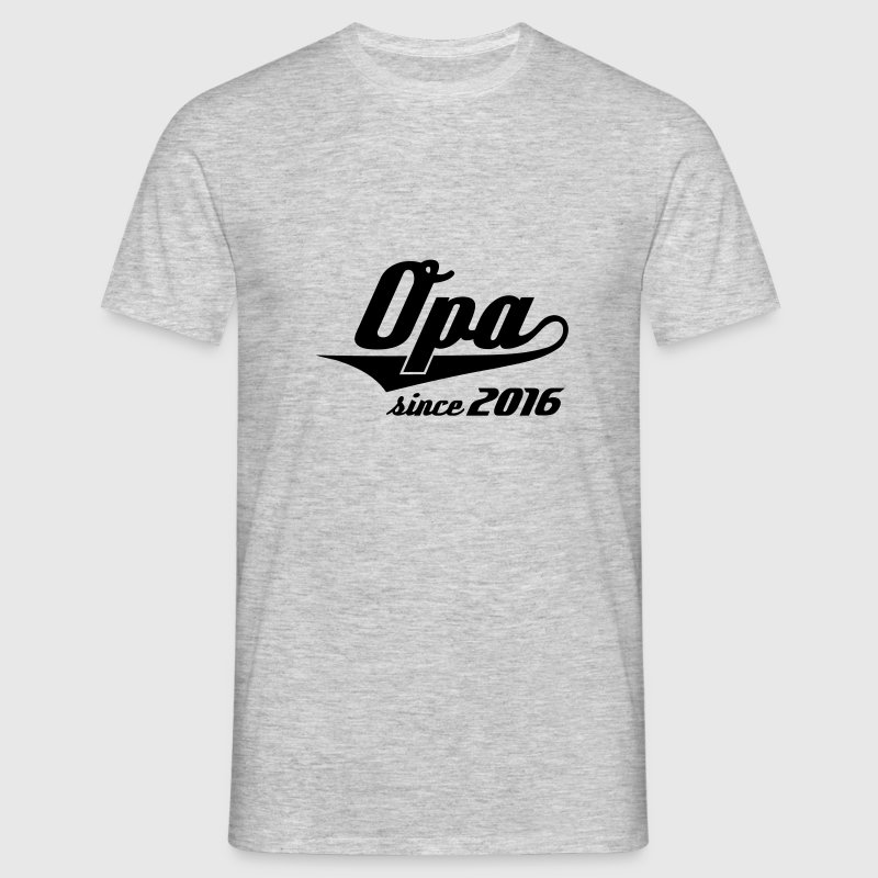 Opa since 2016 - Swash - Männer T-Shirt