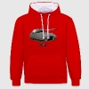 World of Tanks Maus Männer Kapuzenpullover - Kontrast-Hoodie