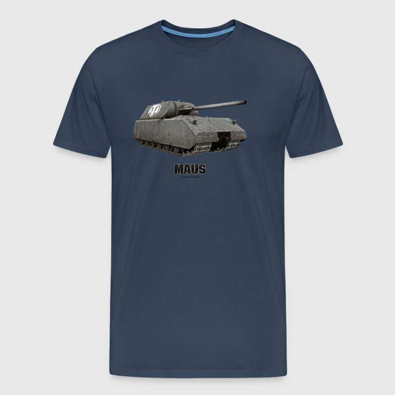 World of Tanks Maus Homme tee shirt - T-shirt Premium Homme