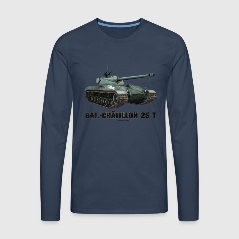 World of Tanks Bat.-Châtillon 25T Men Longsleeve - Men's Premium Longsleeve Shirt