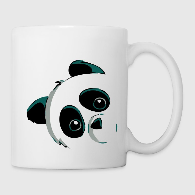 panda kopf tasse spreadshirt. Black Bedroom Furniture Sets. Home Design Ideas
