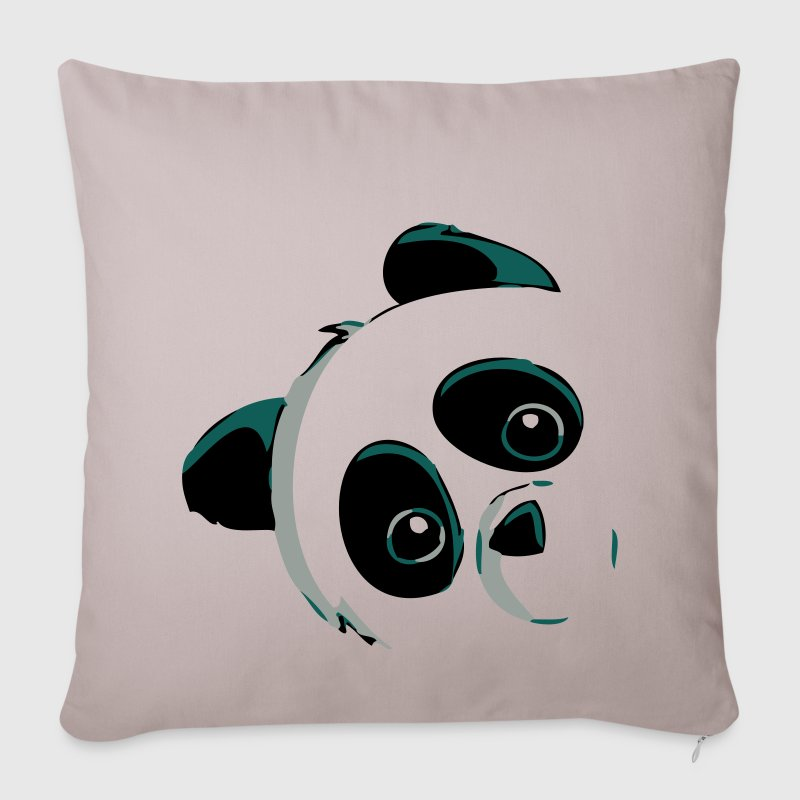 Panda head Sofa pillow cover Spreadshirt