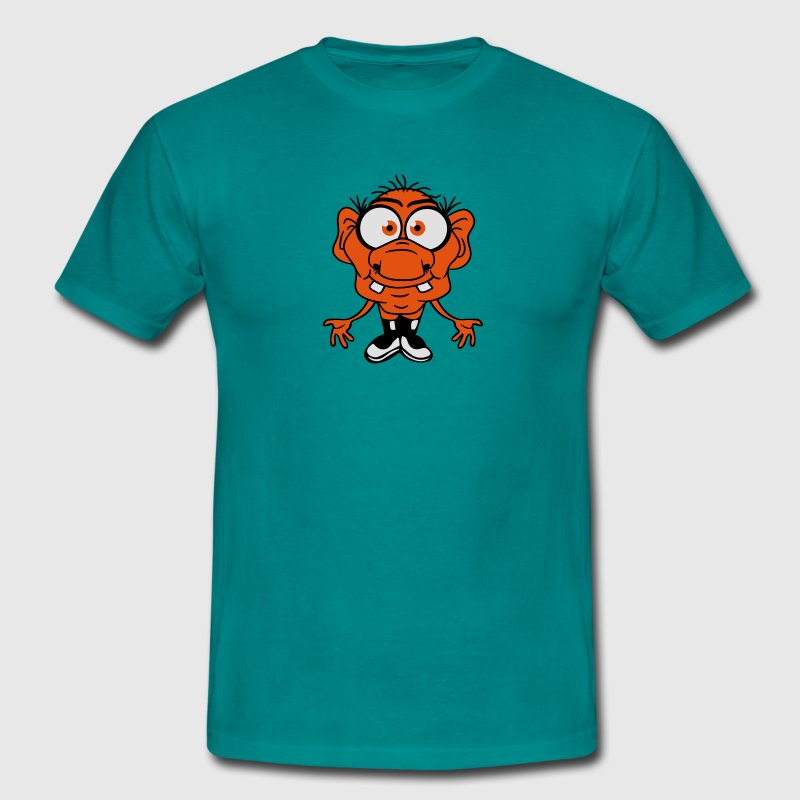 funny small ugly disgusting old man grandpa monste T-Shirts - Men's T-Shirt