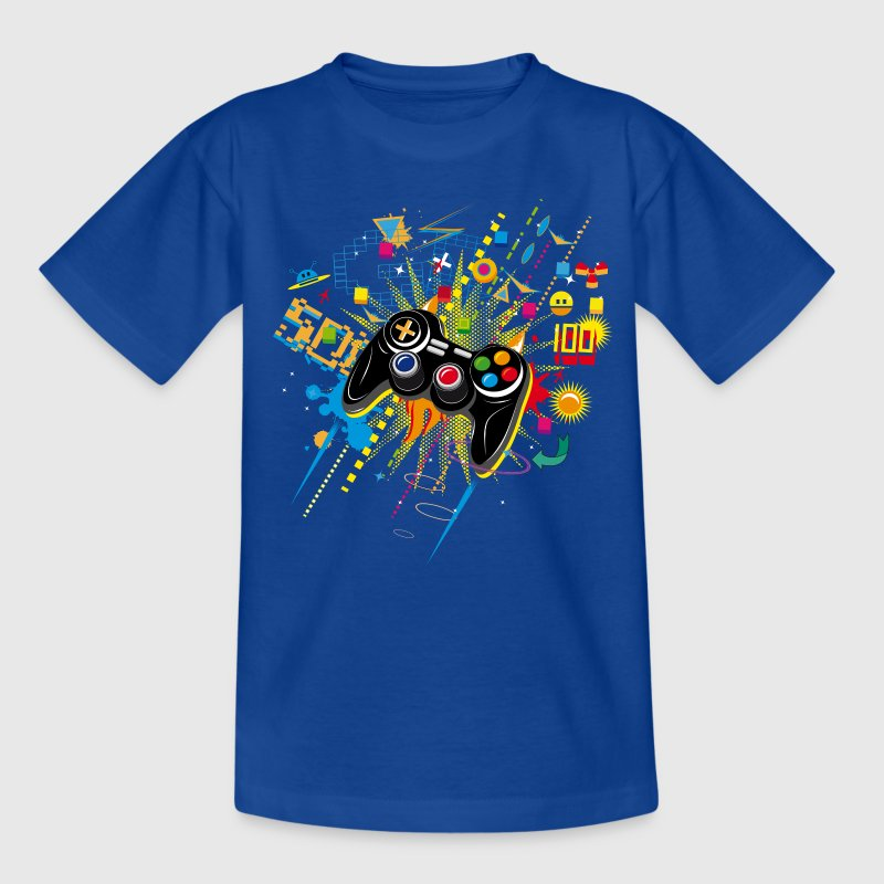 Gamepad video games t shirt spreadshirt for T shirt design game
