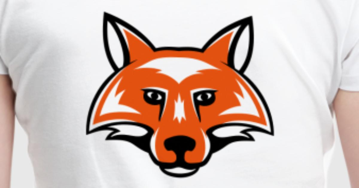 fox_head_simple_2c T-Shirt