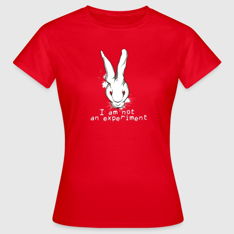 i am not an experiment animal rights t shirt spreadshirt. Black Bedroom Furniture Sets. Home Design Ideas