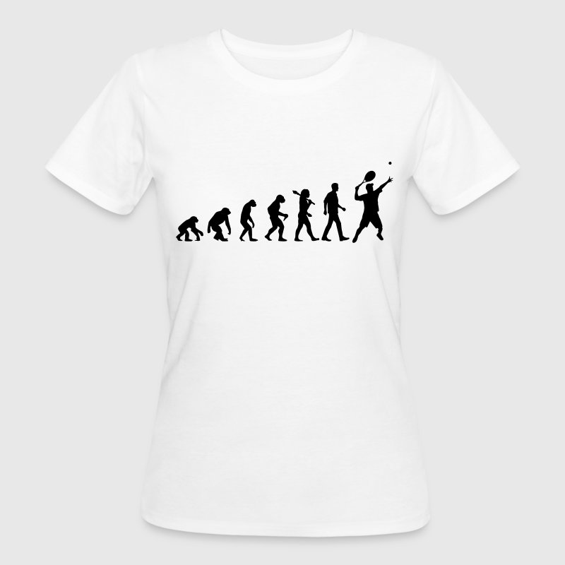 Tennis Evolution T-Shirts - Frauen Bio-T-Shirt