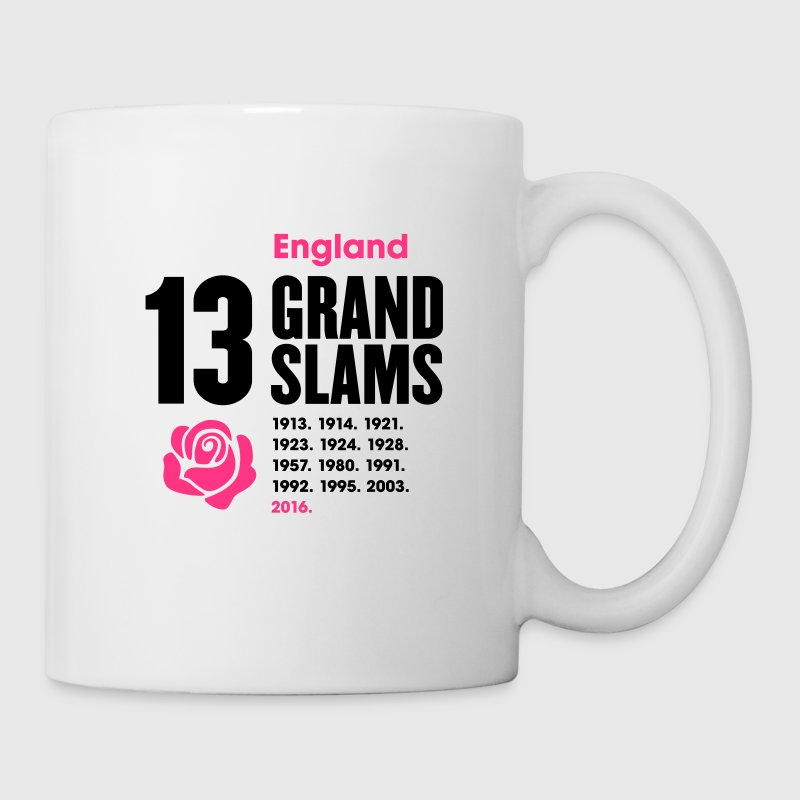 England Rugby Union 13 Grand Slams - Mug