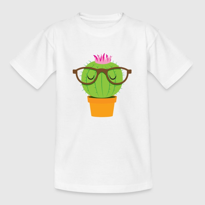 Cute nerdy little cactus Shirts - Kids' T-Shirt