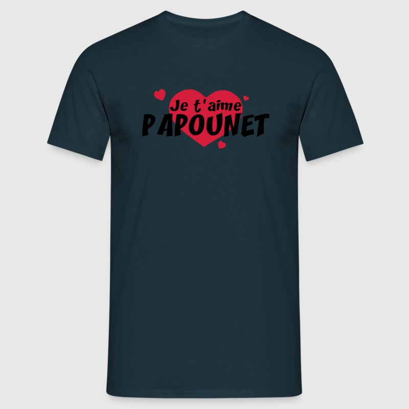 JE T'aime PAPOUNET Tee shirts - T-shirt Homme