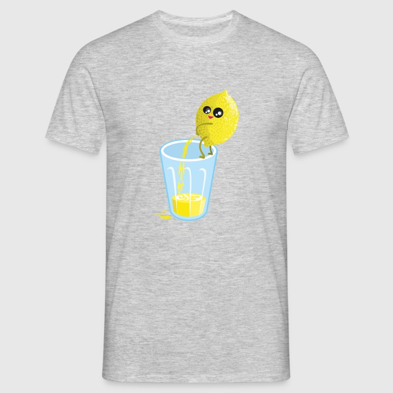 Heather mint Lemon pees lemonade T-Shirts - Men's T-Shirt