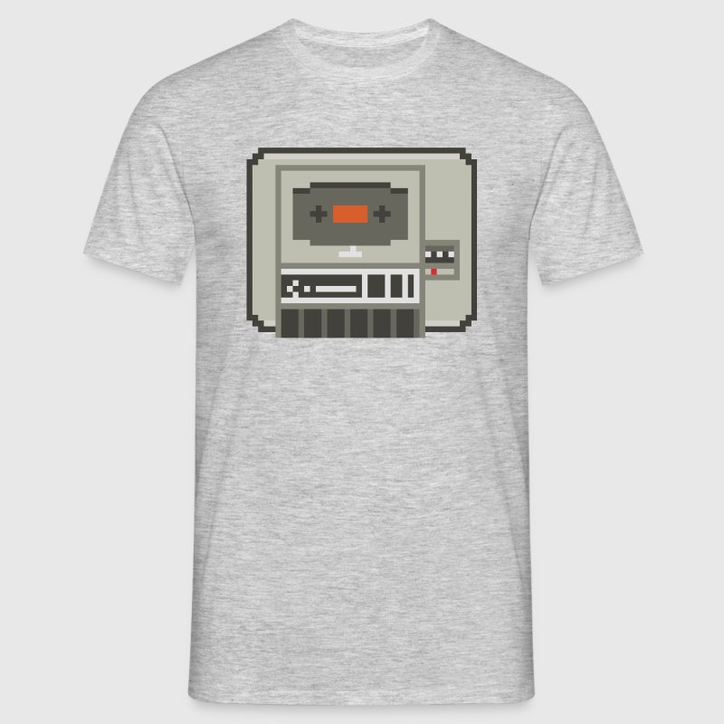 C64 Datasette Player - Männer T-Shirt