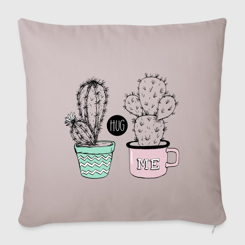Kaktus Hug me Other - Sofa pillow cover 44 x 44 cm