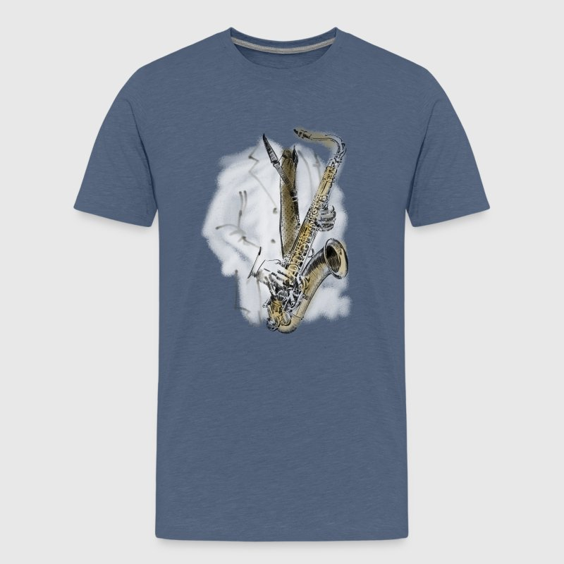 saxophone T-Shirts - Teenager Premium T-Shirt
