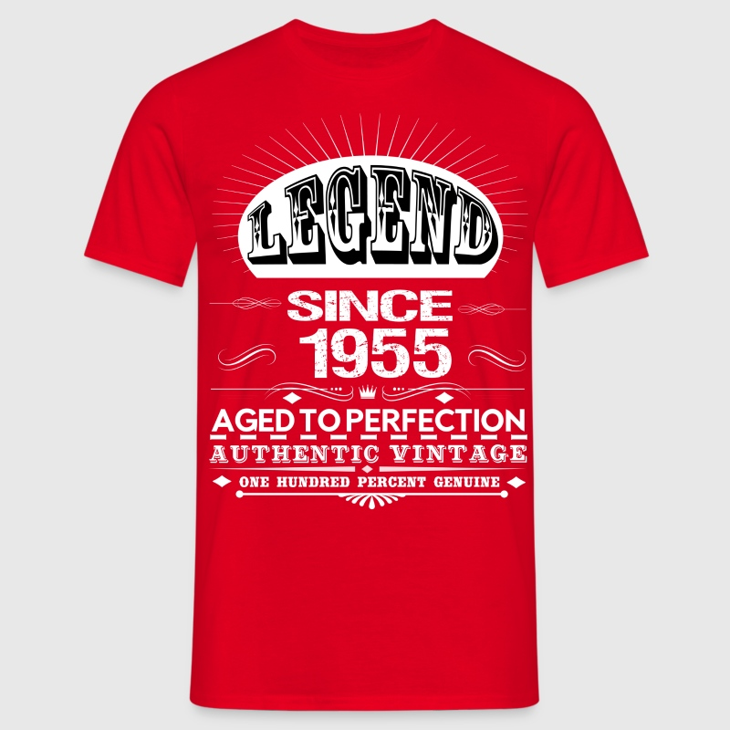 LEGEND SINCE 1955 T-Shirts - Men's T-Shirt
