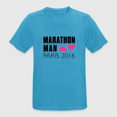 marathon_man_paris Sportbekleidung - Men's Breathable T-Shirt