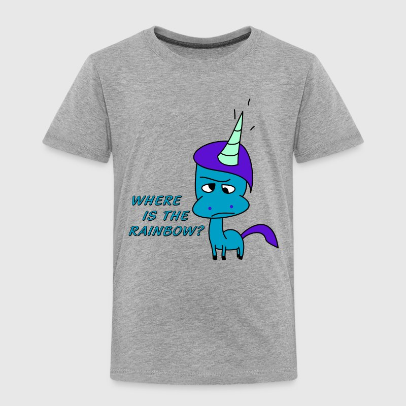 Where is the rainbow?   T-Shirts - Kinder Premium T-Shirt
