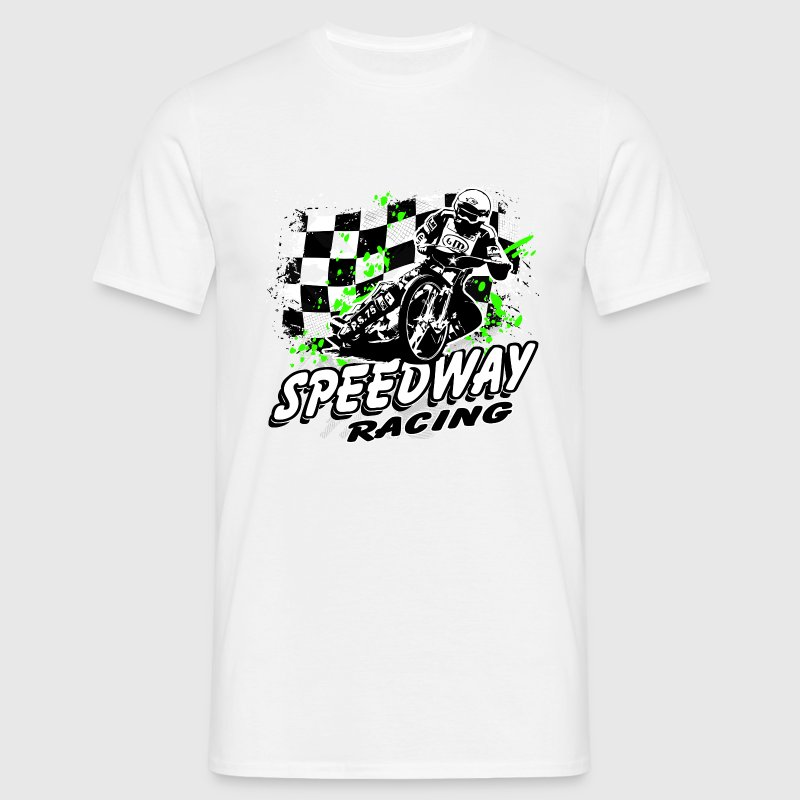 Speedway Racing T-Shirts - Men's T-Shirt