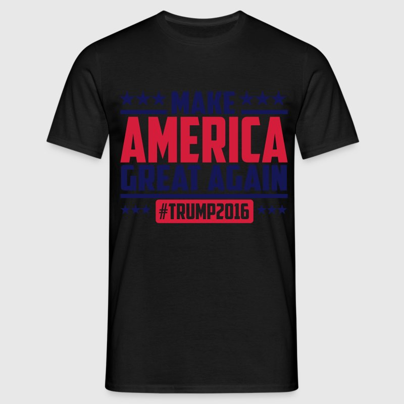 Make america great again trump 2016 T-Shirts - Männer T-Shirt