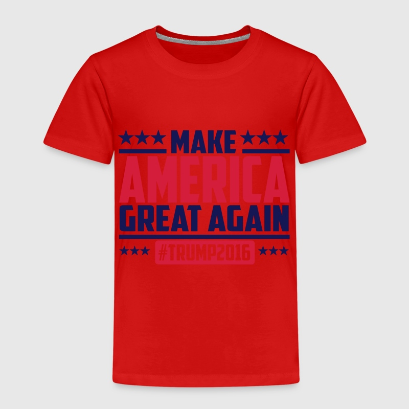 Make america great again trump 2016 T-shirts - Børne premium T-shirt