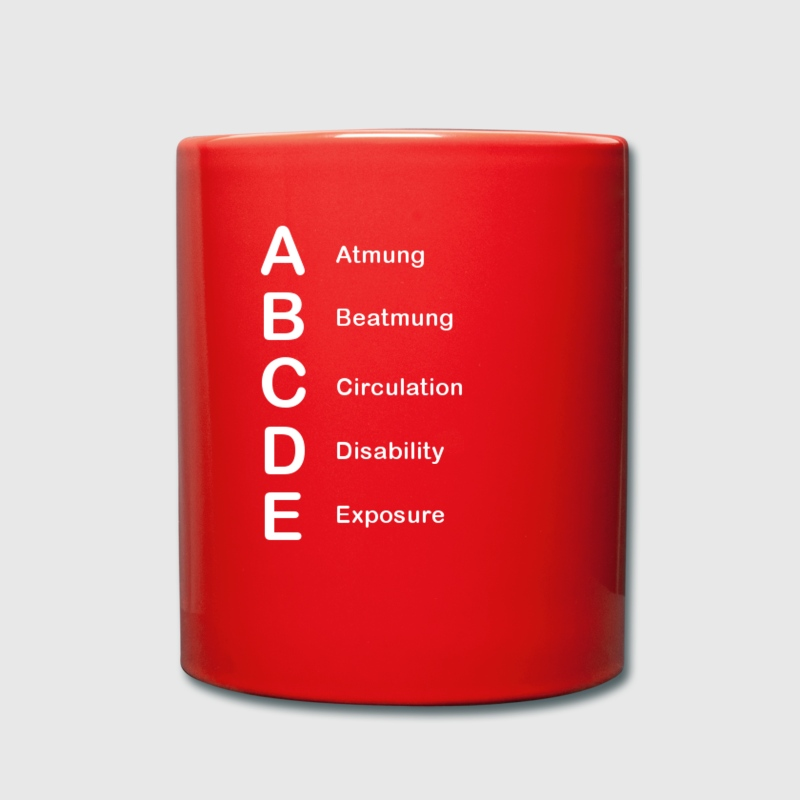 ABCDE CUP - Tasse einfarbig