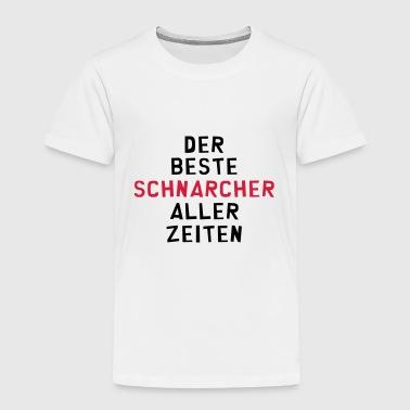 suchbegriff 39 schnarchen 39 t shirts online bestellen spreadshirt. Black Bedroom Furniture Sets. Home Design Ideas