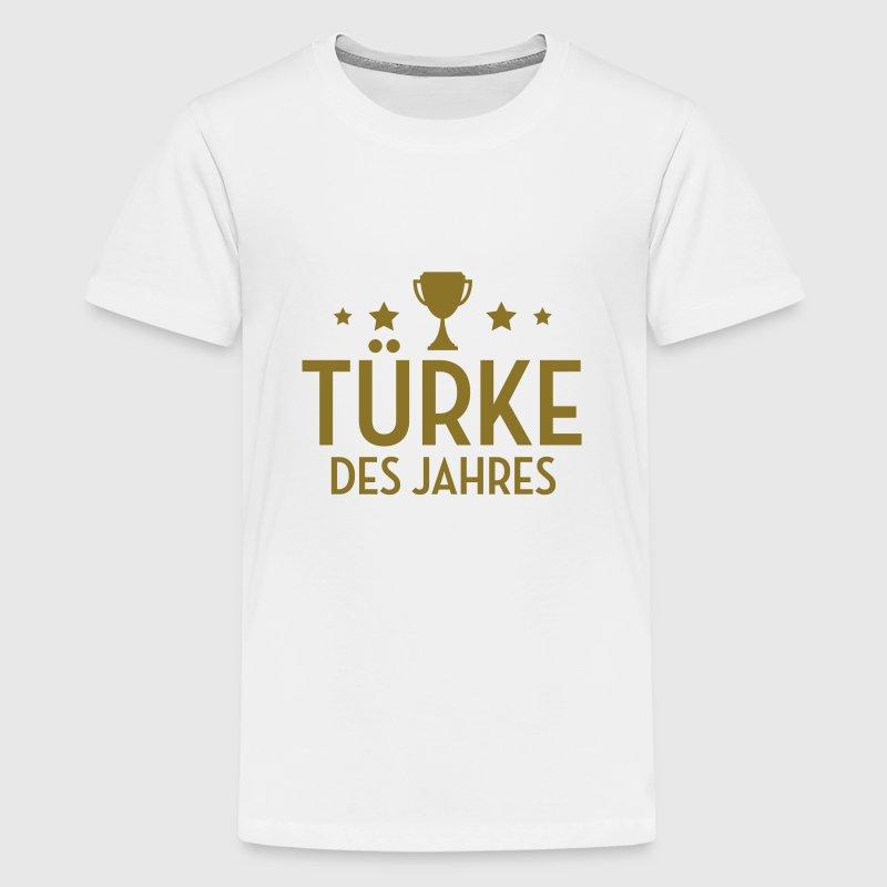 Türke Türkin Türkei Türkisch Turkey Turkish Ankara T-Shirts - Teenager Premium T-Shirt