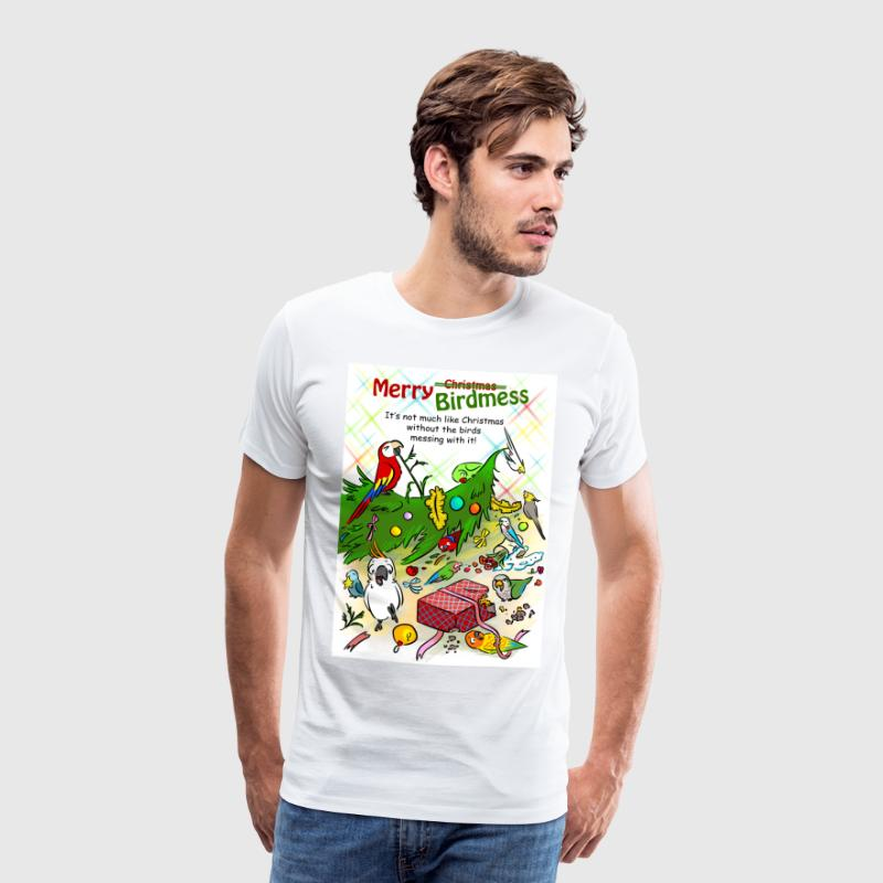Merry Birdmess - Men's Premium T-Shirt