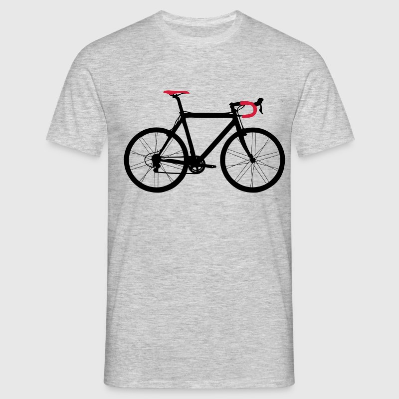 racer bicolore T-shirts - Herre-T-shirt