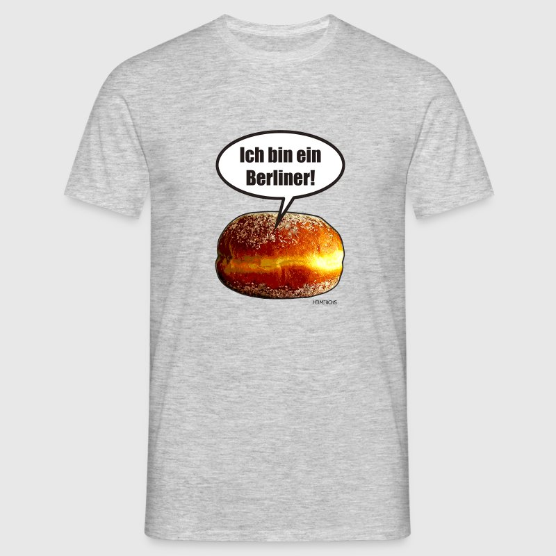 ich bin ein berliner t shirt spreadshirt. Black Bedroom Furniture Sets. Home Design Ideas