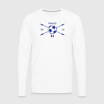 France 2016 Hipster I FR Tee shirts - T-shirt manches longues Premium Homme