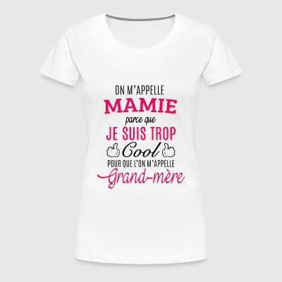 tee shirts mamie commander en ligne spreadshirt. Black Bedroom Furniture Sets. Home Design Ideas