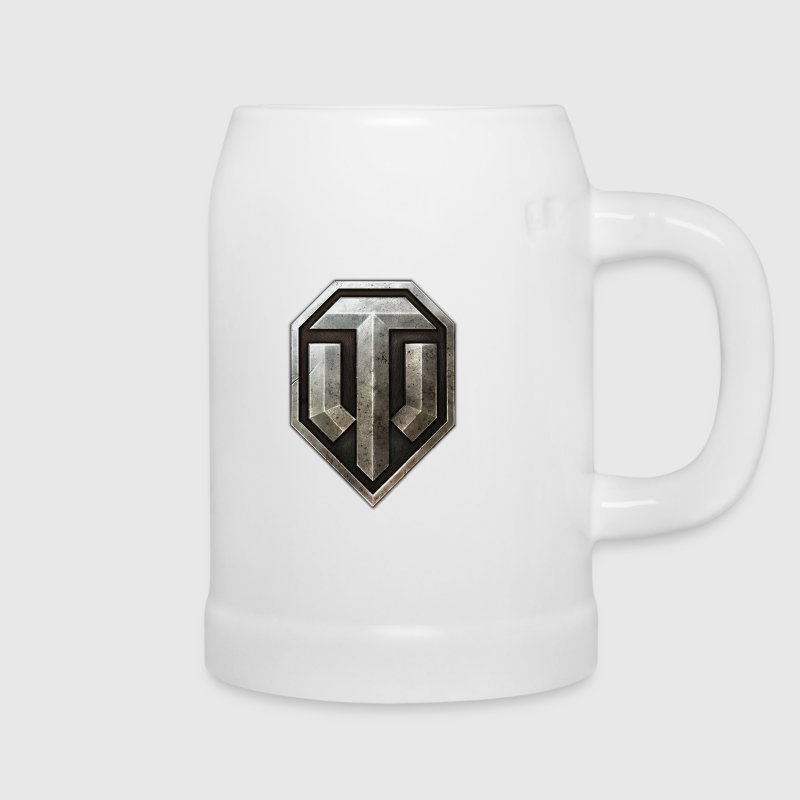 World of Tanks Logo Metall Chope - Jarra de cerveza