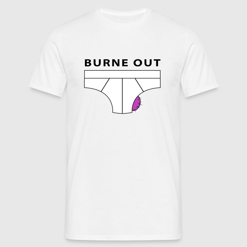burne out Tee shirts - T-shirt Homme