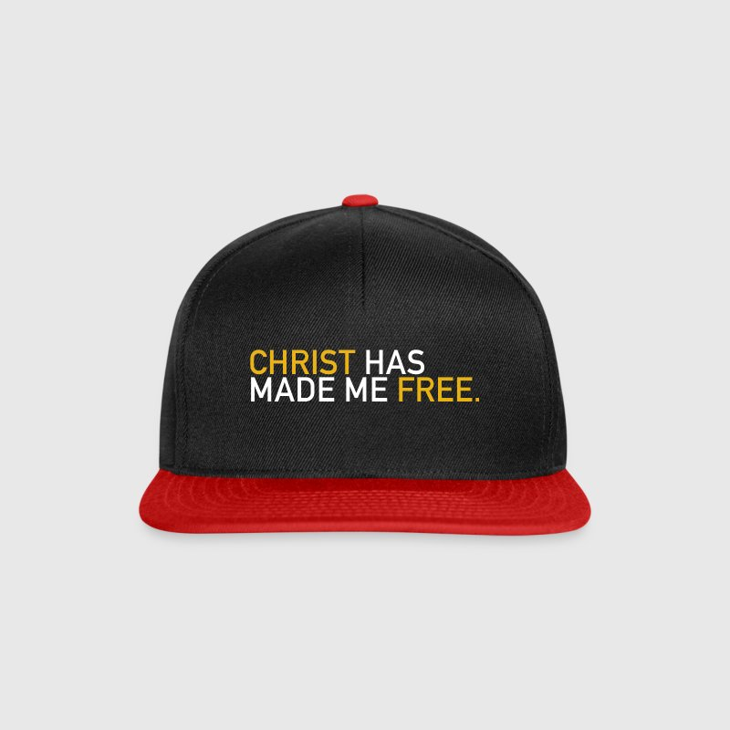 Christ has made me free Caps & Mützen - Snapback Cap