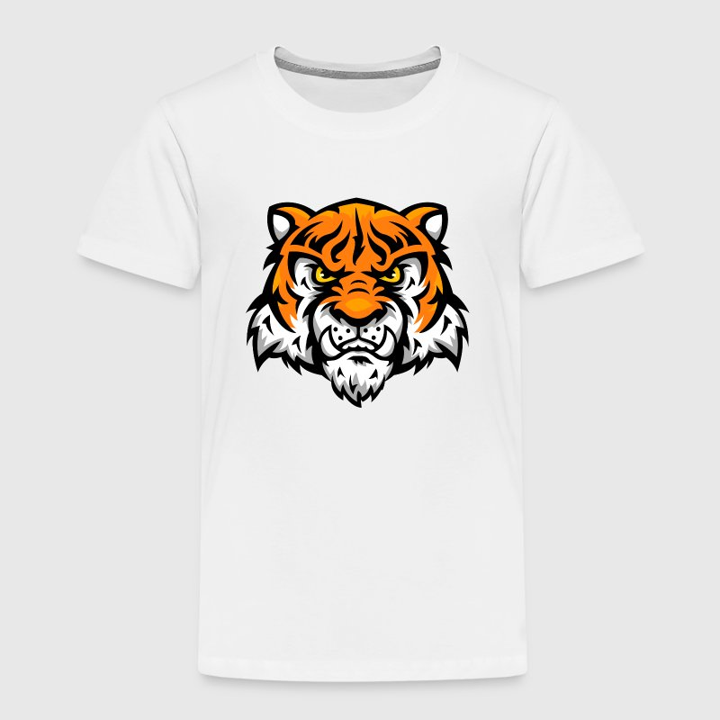tiger comic T-Shirts - Kinder Premium T-Shirt