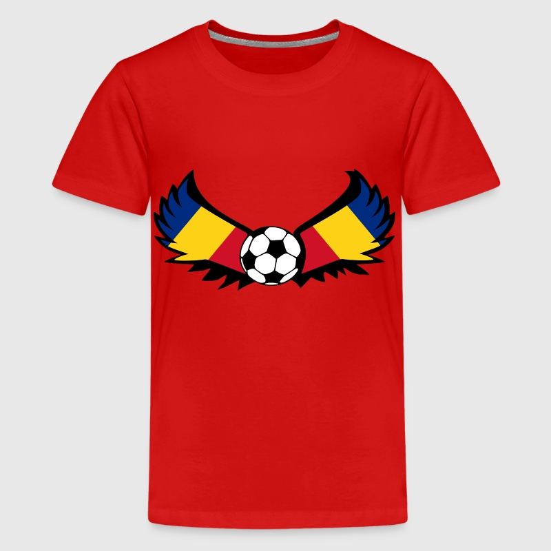 Fussball Rumänien - Teenager Premium T-Shirt