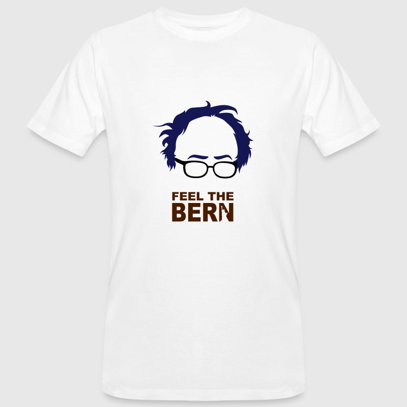 FEEL THE BERN - BERNIE SANDERS - Männer Bio-T-Shirt
