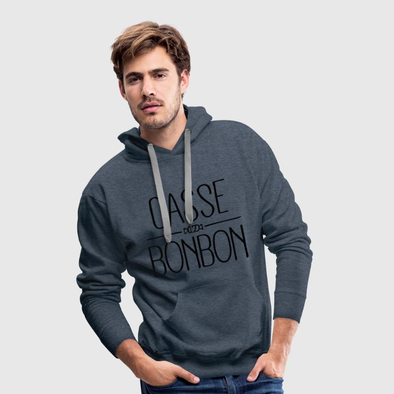 Casse Bonbon Sweat-shirts - Sweat-shirt à capuche Premium pour hommes