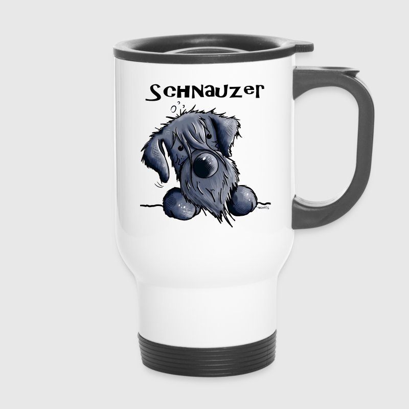 Sweet Schnauzer Mugs & Drinkware - Travel Mug