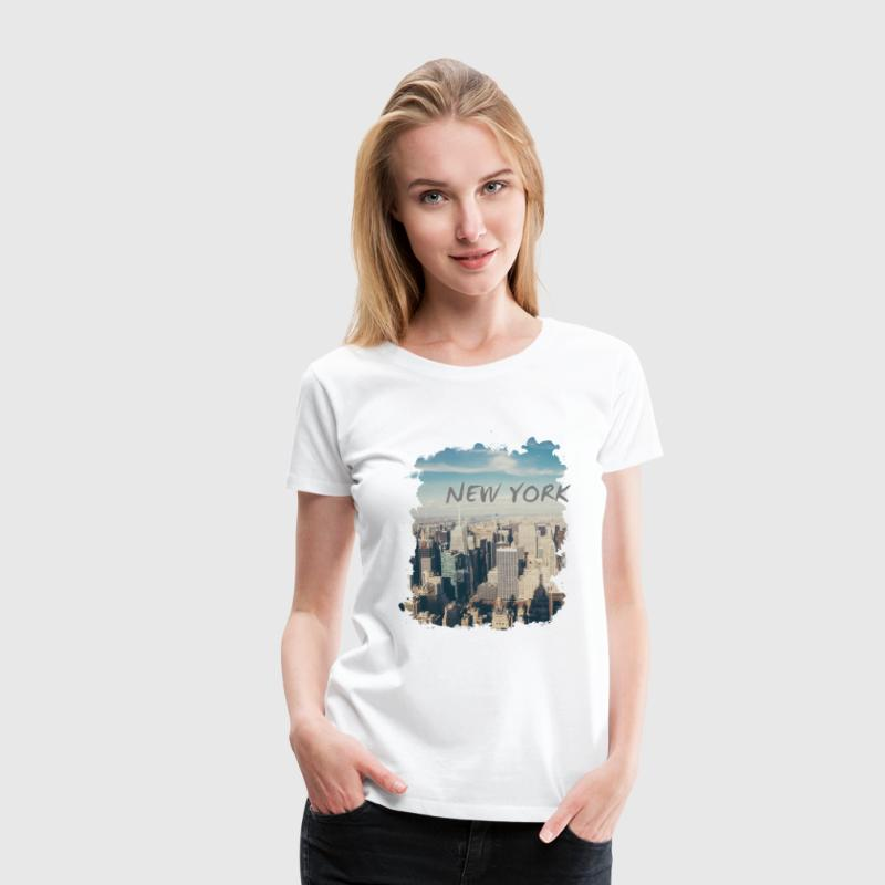 New York - Frauen Premium T-Shirt