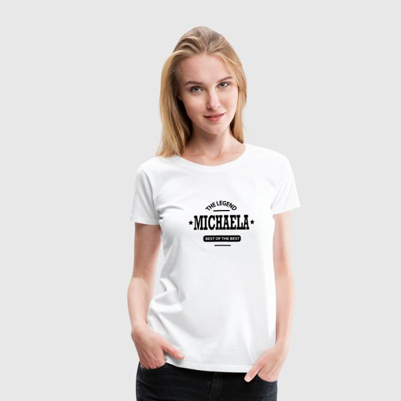 michaela T-Shirts - Frauen Premium T-Shirt