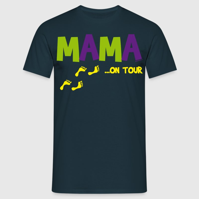 Mama on Tour - Männer T-Shirt