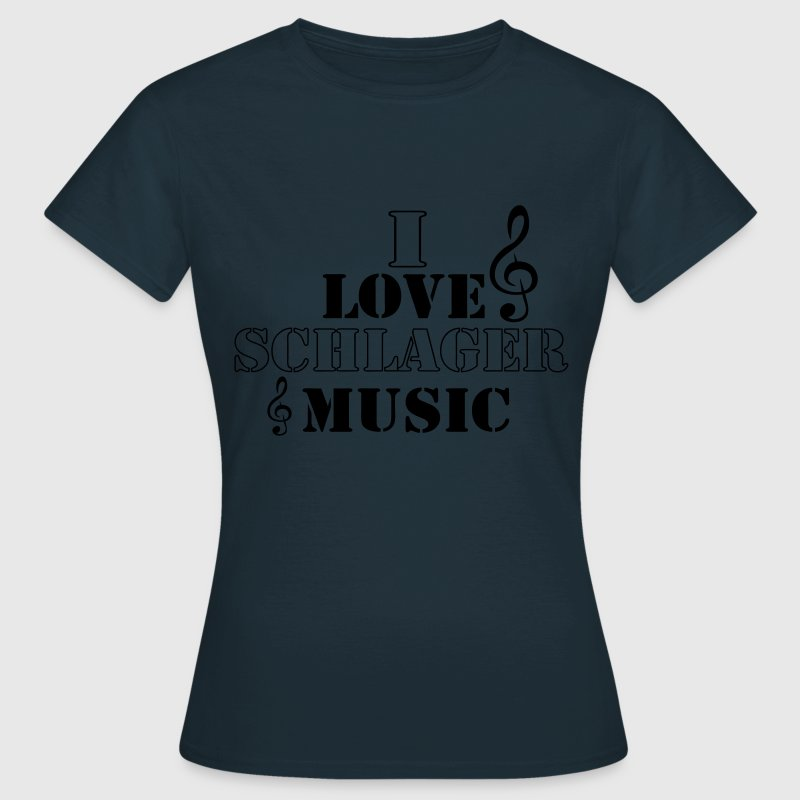 i love schlager T-Shirts - Frauen T-Shirt