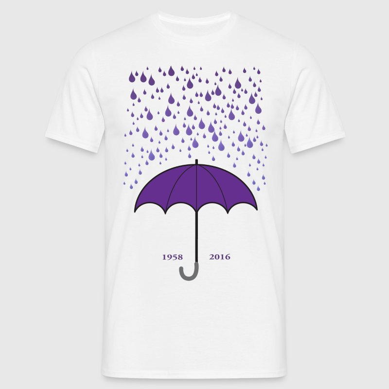Purple Rain - Men's T-Shirt